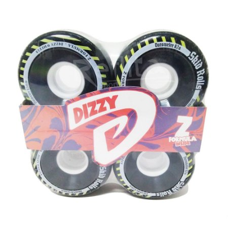 Roda Freeride Dizzy Skid Rolls 65mm 82A