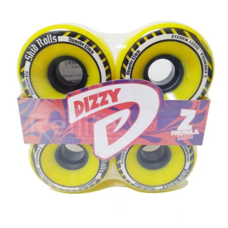 Roda Freeride Dizzy Skid Rolls 65mm 84A