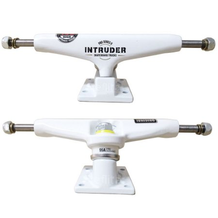 Truck Intruder Pro Séries ll - White - 129mm Mid