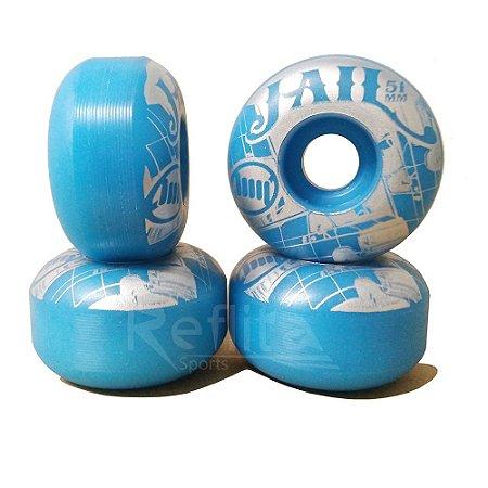 Roda de Skate Jail 51mm 99A - Azul