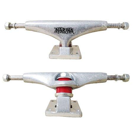 Truck de Skate Narina Pro 139mm - Silver