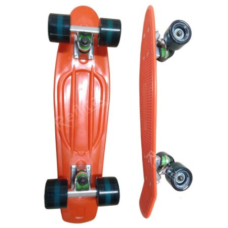 Skate Mini Cruiser - Hondar - Laranja/Azul