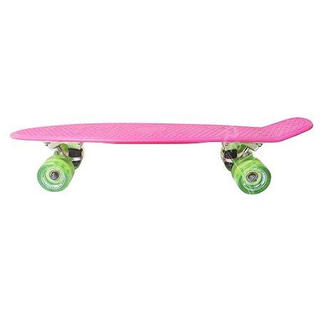 Skate Mini Cruiser - Hondar- Rosa/Verde
