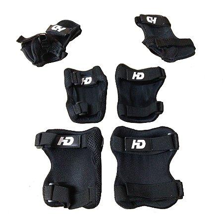 Kit de Proteção Hondar - Skate / Patins