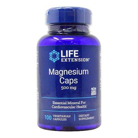 Magnésio 500 mg - Life Extension - 100 Cápsulas (PRONTA ENTREGA NO BRASIL)