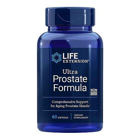 Ultra Prostate Fórmula, 60 Softgels, Life Extension