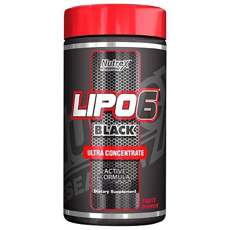 Lipo 6 Black Ultraconcentrado em pó - Nutrex - 125 g - O Original!