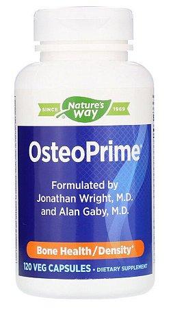 OsteoPrime - Saúde dos Ossos e Articulações - Nature´s Way - 120 Cápsulas