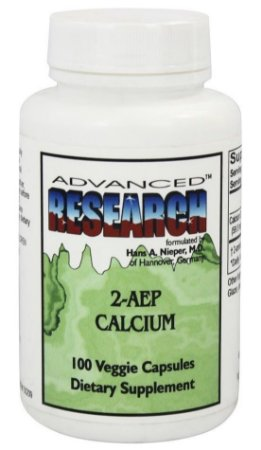 Calcium 2-AEP – Fosfoetanolamina - Advanced Research – 100 cápsulas
