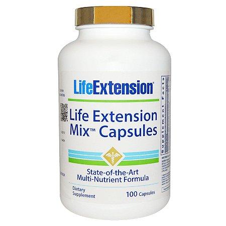 Multivitamínico Life Extension Mix - Life Extension - 100 cápsulas