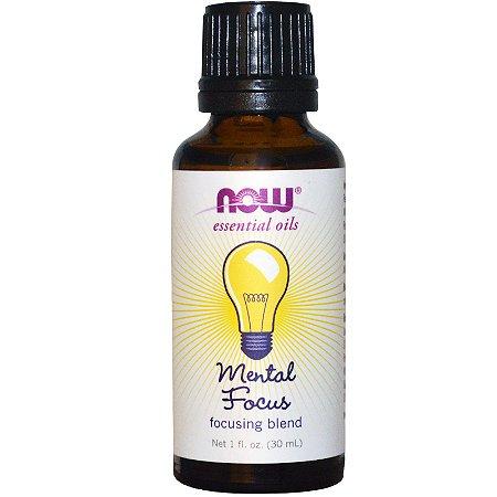 Mental Focus (Suplemento para o Cérebro) óleo essencial - Now Foods - 30 ml