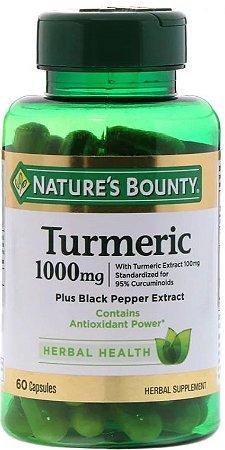 Curcumin Tumeric - Nature´s Bounty - 60 Cápsulas