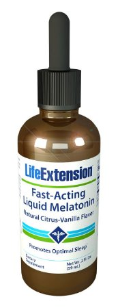 Comprar Melatonina liquida 3 mg - Life Extension - 60 ml sabor citrus/baunilha (hormônio do sono)