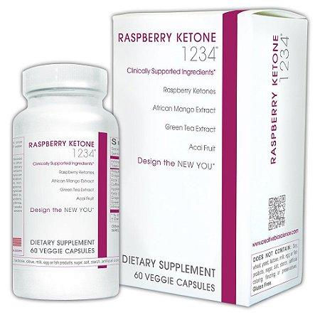 Raspberry Ketone (Cetona de Framboesa) - Creative Bioscience - 60 Cápsulas-VAL 05.19