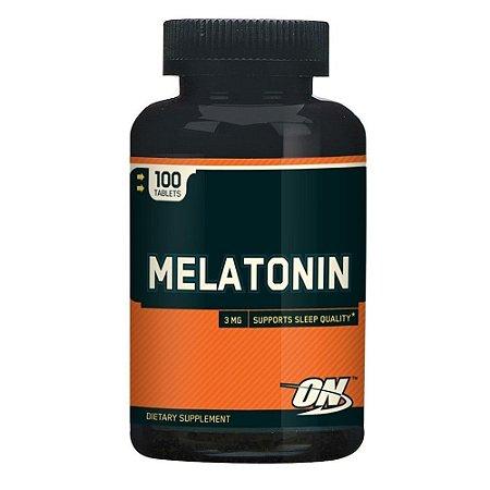 Melatonina 3 mg - Optimum Nutrition - 100 tabletes - hormonio do sono