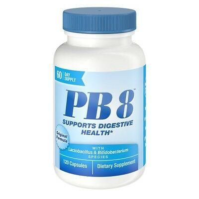PB 8 Probióticos Acidophilus - Now Nutrition - 120 Cápsulas