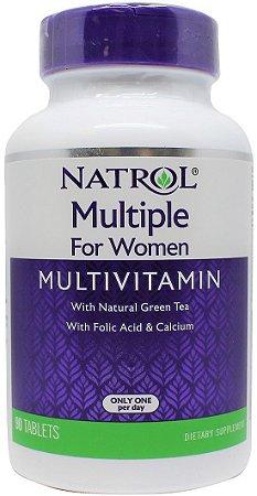 Multivitamínico para mulheres completo  - Natrol - 90 tablets