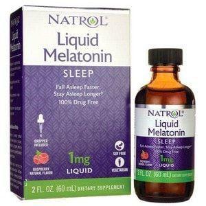 Melatonina Liquida 1mg - Natrol - 60 ml (Envio Internacional)