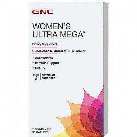 Super Multivitmínico para Mulheres Women's Ultra Mega  GNC - 90 capsulas
