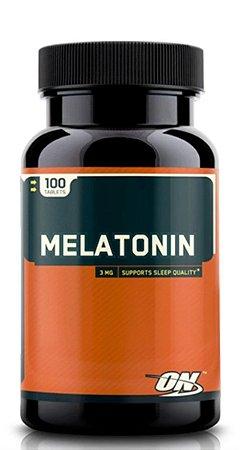 Melatonina 3 mg - Optimum Nutrition - 100 tabletes (Pronta Entrega no Brasil)