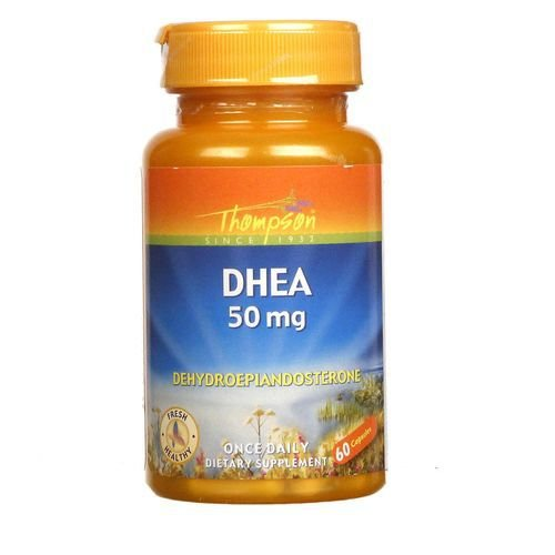 DHEA 50 mg - Thompson - 60 cápsulas