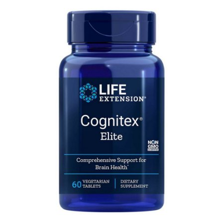 Cognitex Elite - 60 comprimidos vegetarianos - Life Extension (PRONTA ENTREGA NO BRASIL)