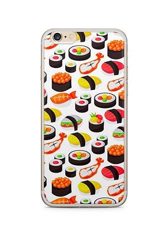 Kit com 4 Capas Iphone 6/6S + Lente Fish Eye