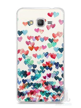 Capa Samsung Gran Prime Corações Coloridos
