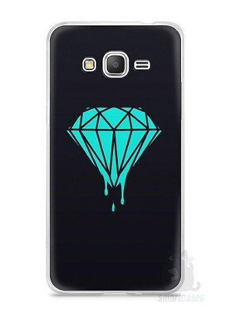 Capa Samsung Gran Prime Diamante Azul