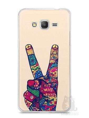 Capa Samsung Gran Prime Paz e Amor