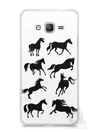 Capa Samsung Gran Prime Cavalos #2
