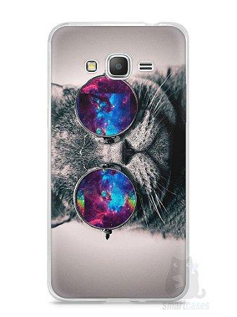 Capa Samsung Gran Prime Gato Galáxia #1