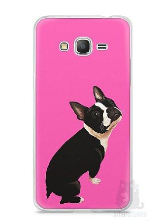 Capa Samsung Gran Prime Cachorro Boston Terrier