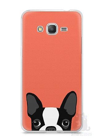 Capa Samsung Gran Prime Cachorro Bulldog Francês #1