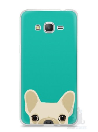 Capa Samsung Gran Prime Cachorro Bulldog Francês #2