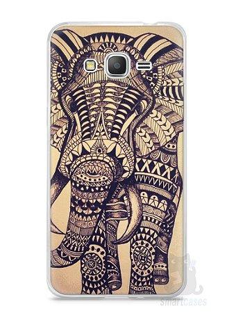 Capa Samsung Gran Prime Elefante Tribal