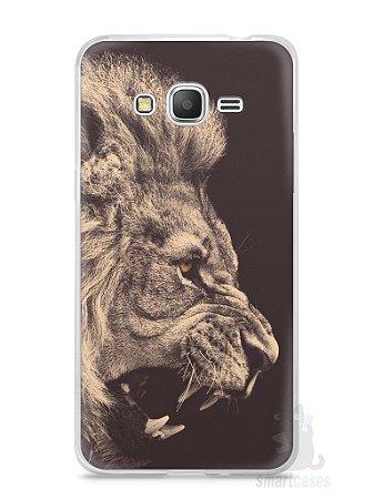 Capa Samsung Gran Prime Leão Feroz