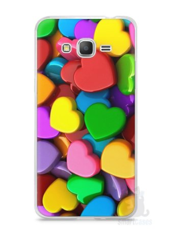 Capa Samsung Gran Prime Corações