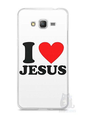 Capa Samsung Gran Prime I Love Jesus