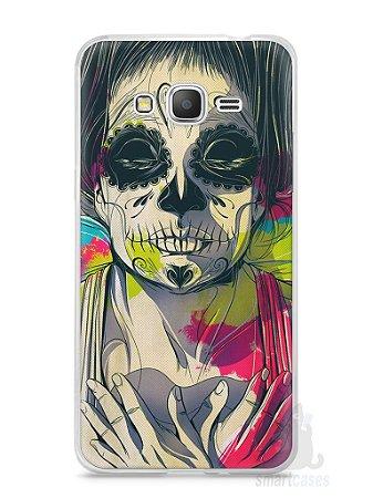 Capa Samsung Gran Prime Caveira Pintura