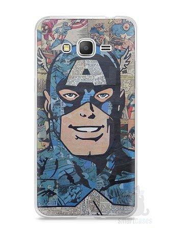 Capa Samsung Gran Prime Capitão América Comic Books #2