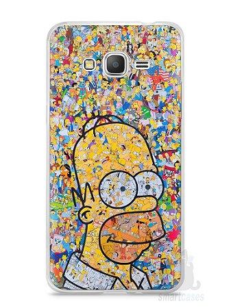 Capa Samsung Gran Prime Homer Simpson Comic Books