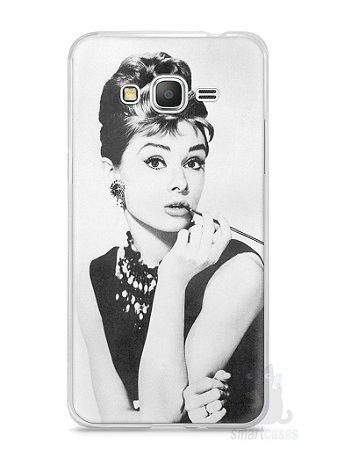 Capa Samsung Gran Prime Audrey Hepburn #1