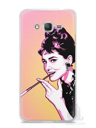 Capa Samsung Gran Prime Audrey Hepburn #2