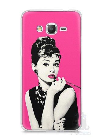 Capa Samsung Gran Prime Audrey Hepburn #4