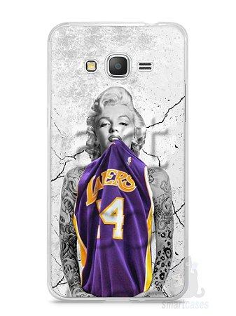 Capa Samsung Gran Prime Marilyn Monroe Lakers