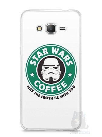 Capa Samsung Gran Prime Star Wars Coffee
