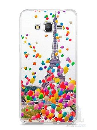 Capa Samsung Gran Prime Torre Eiffel e Balões