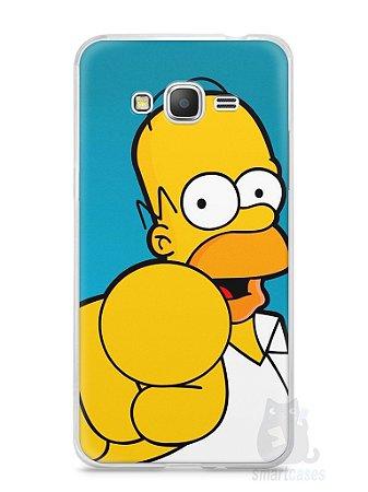 """Capa Samsung Gran Prime Homer Simpson """"Escolho Você"""""""