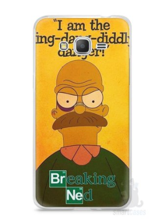 Capa Samsung Gran Prime Homer Simpson Breaking Bad